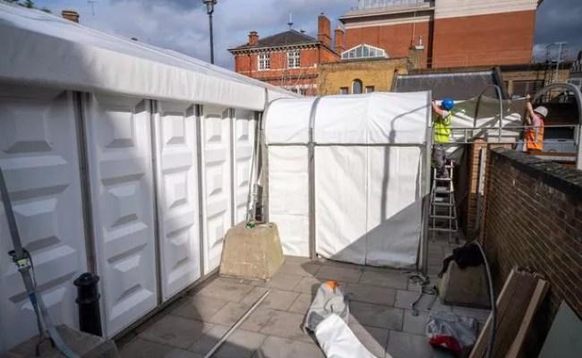 London Mortuary Doubles Capacity As Coronavirus Death Toll