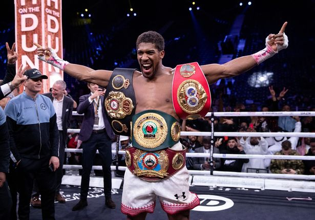 The Brit has dominated the boxing ring, holding four heavyweight titles