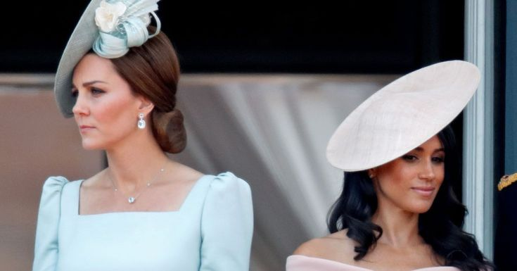 Meghan Markle 'hurt' as Kate 'barely said two words' to her on last UK visit