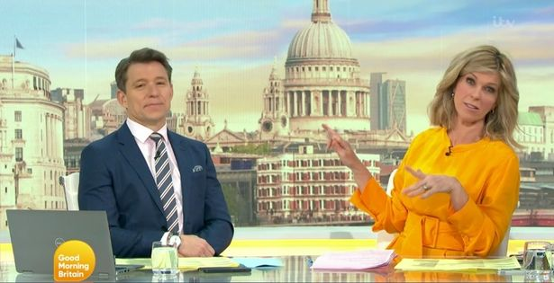 Ben and Kate are great friends as well as colleagues from Good Morning Britain