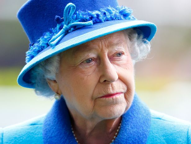 The Queen at Ascot in 2014