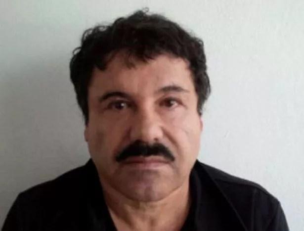 Mexican drug trafficker Joaquin Guzman Loera, aka