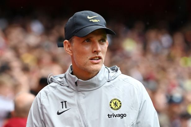 Thomas Tuchel, Manager of Chelsea looks on during the Pre-Season Friendly match between Arsenal and Chelsea at Emirates Stadium on August 01, 2021 in London, England.