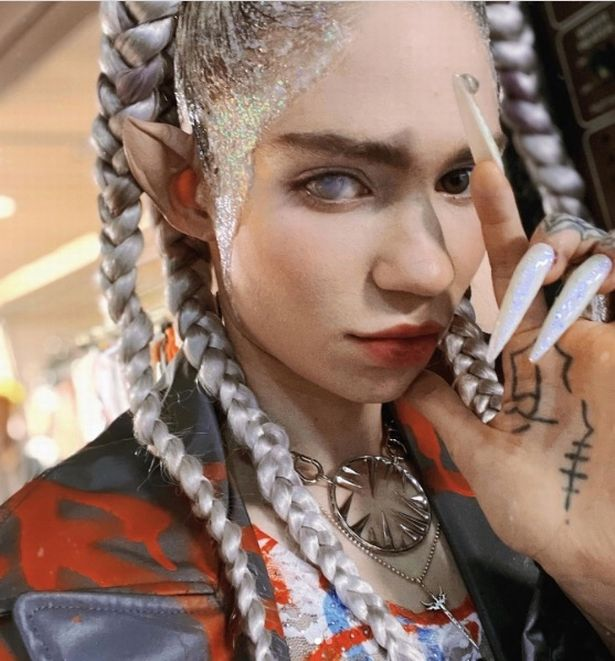 Grimes has previously revealed that her son doesn't call her mum