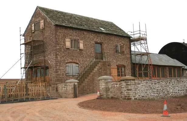 Harewood End stable block after restoration work