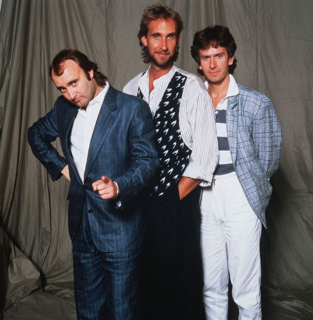 Phil Collins with Genesis