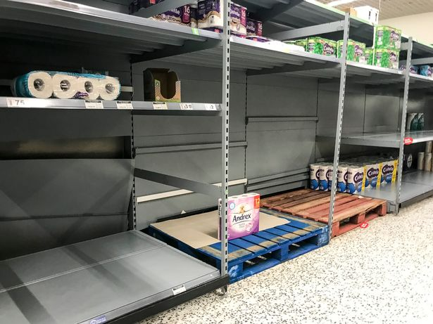 Fears of another winter lockdown are encouraging some shoppers to stock up on essentials