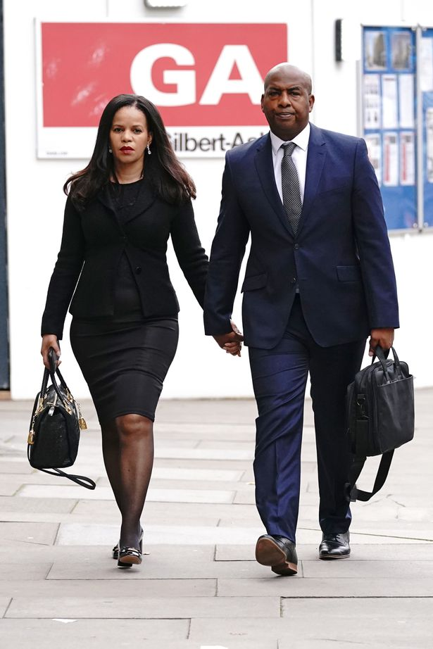 Ms Webbe allegedly called Mr Thomas friend a slag, threatened an acid attack and said she would distribute nude photos to her family