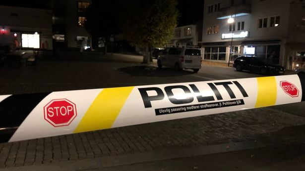 Norway police tape