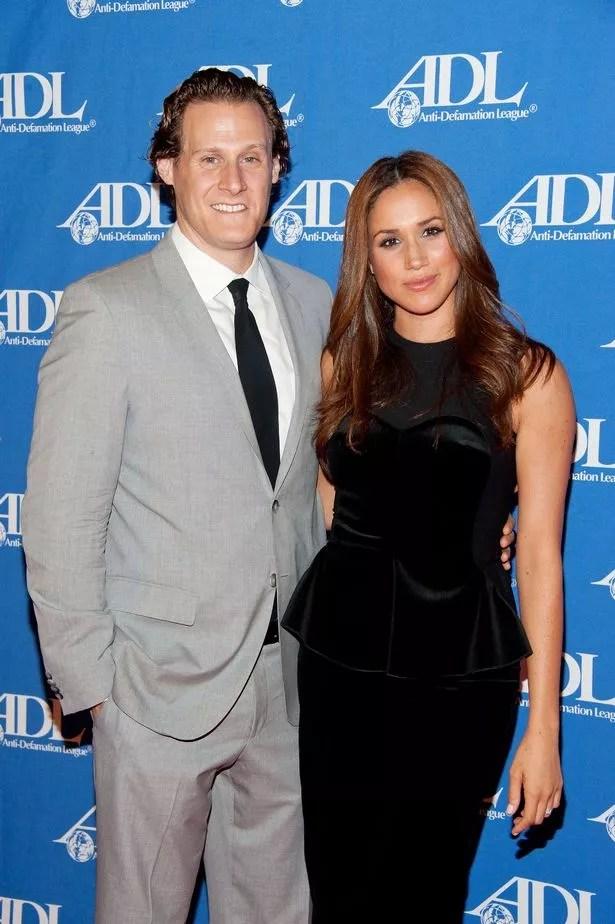 Meghan Markle and her husband Trevor Engelson in 2011