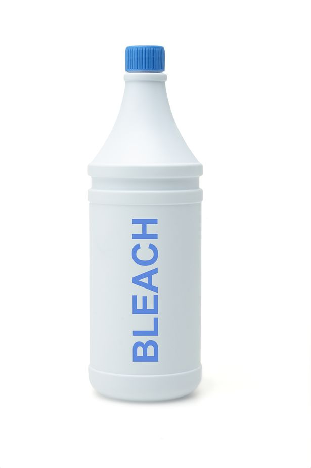 bleach bottle