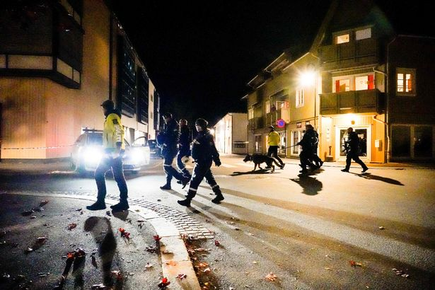Norway attack: Witness watching Squid Game thought sounds of murder were coming from TV