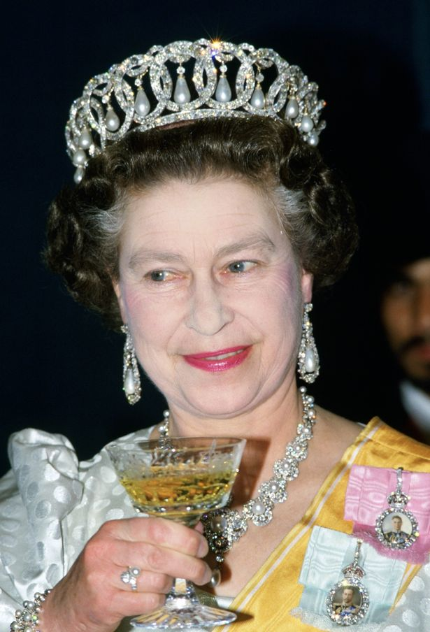 Her Majesty has always enjoyed a dry Martini before supper