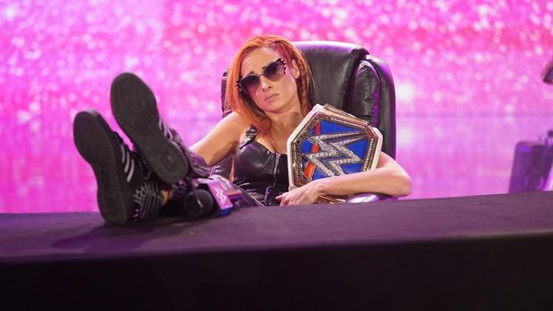 Becky Lynch is the reigning SmackDown Women's Champion in WWE