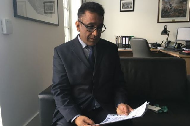 Councillor Asaf Afzal, cabinet member for neighbourhoods and public protection