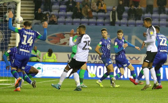 Wigan Athletic 1 1 Derby County Report And Reaction As