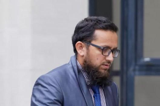 Derby doctor Jamil Rehman outside Swansea Crown Court