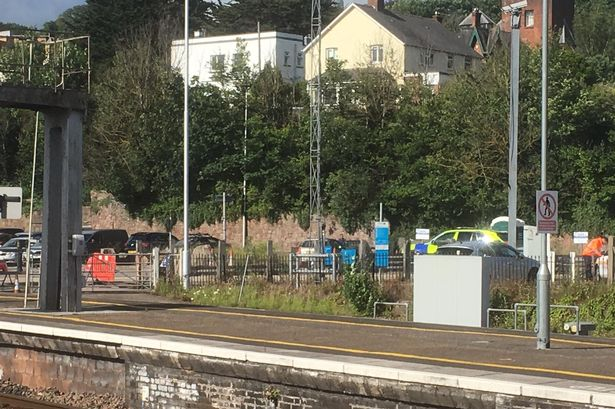 This Is Why Police Were Outside Exeter St Davids Yesterday