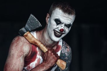 Image result for scary clown