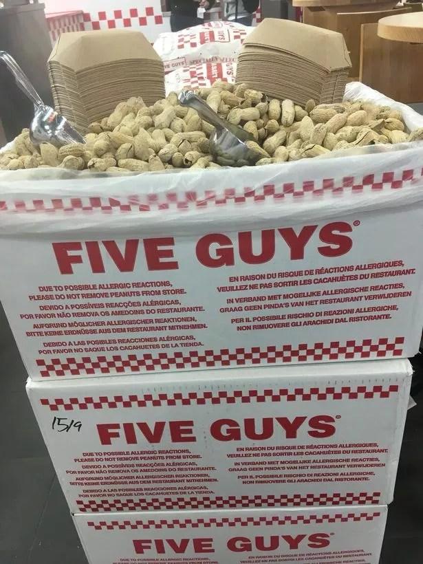five guys has finally