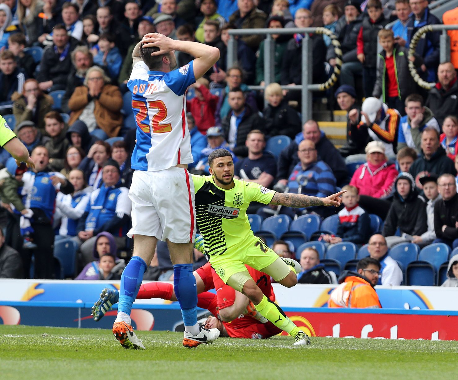 Blackburn 0 Huddersfield Town 2: Match action gallery - YorkshireLive