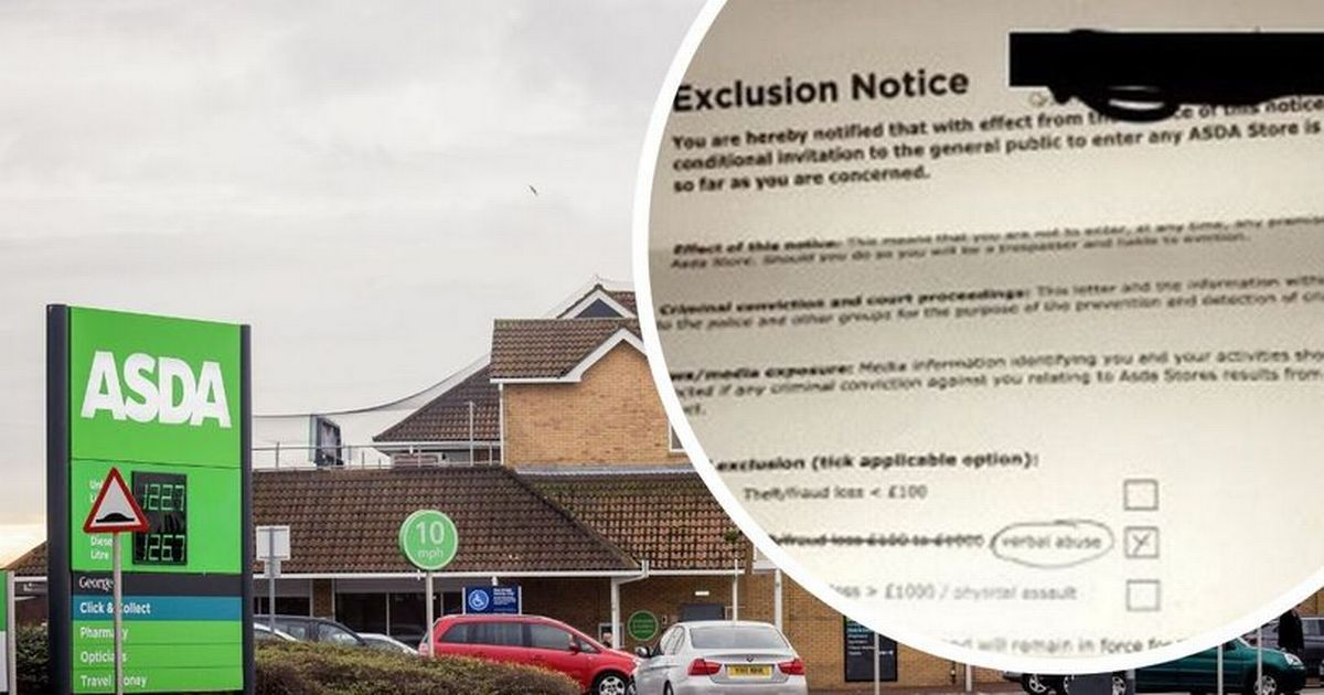 Mom is banned from all Asda stores in the country after a dispute over auto-checkout payment