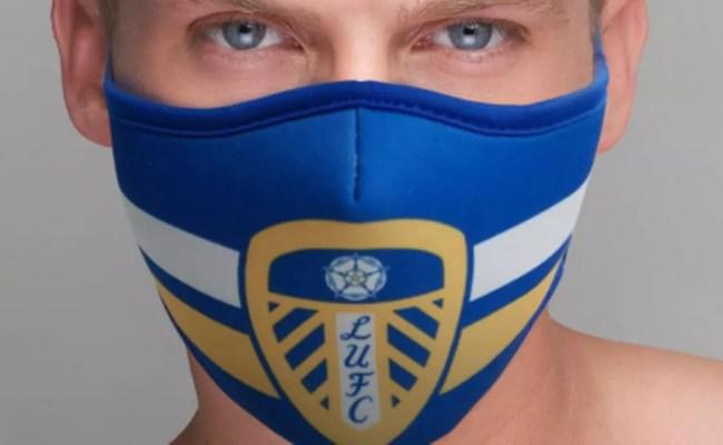 Leeds United Are Selling Protective Coronavirus Face Masks