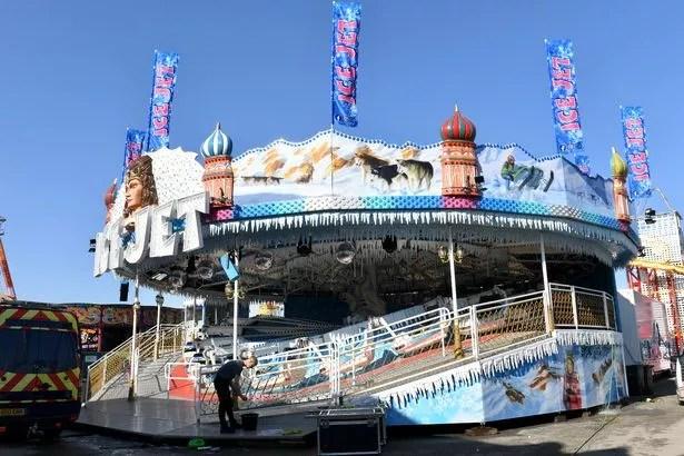 Ice Jet at Hull Fair 2021