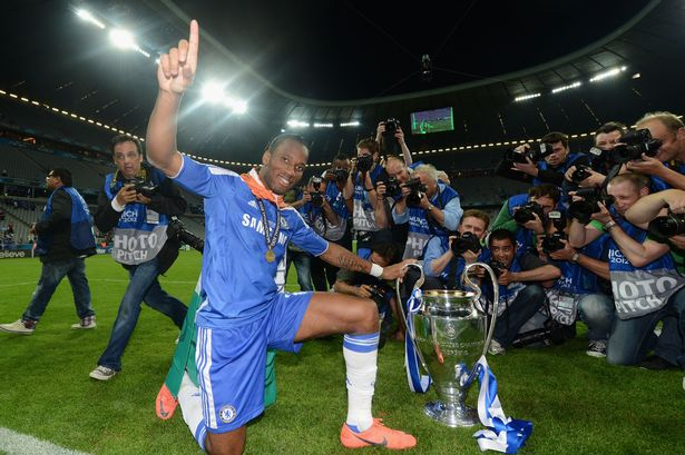 Didier Drogba's three-word message to Chelsea fans ahead ...