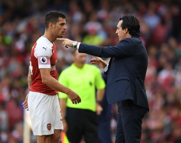 Granit Xhaka calls Unai Emery 'a freak' and reveals the secret behind his  best ever Arsenal form - football.london