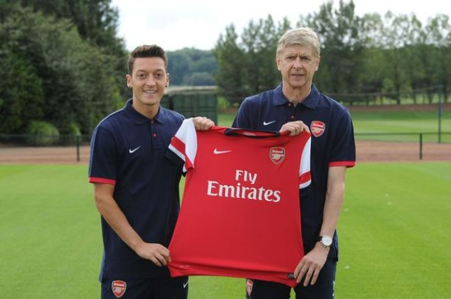 The day Arsenal signed Mesut Ozil from Real Madrid to herald a new ...