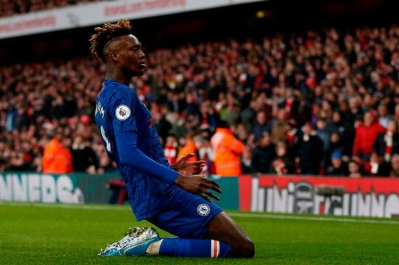 Chelsea fans noticed what Tammy Abraham did after his goal vs Arsenal -  football.london