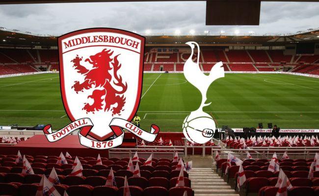 Middlesbrough Vs Tottenham Live Confirmed Team News As