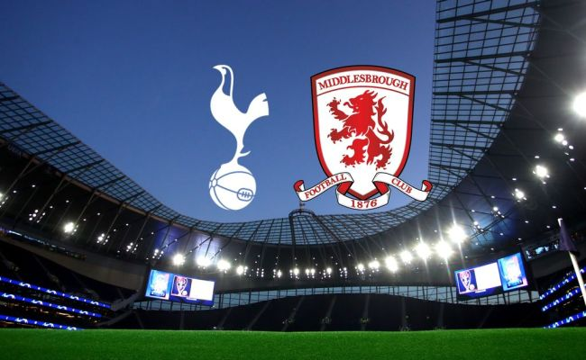 Tottenham Vs Middlesbrough Live Confirmed Team News As