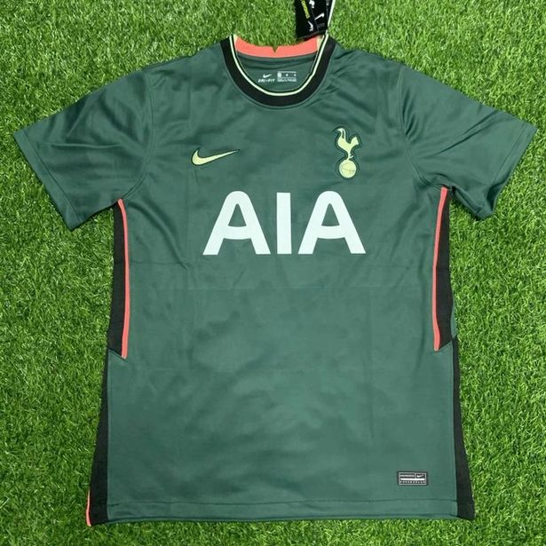 Tottenham Yellow Kit 20 21 Nike Adult Spurs 20 21 Third Jersey Yellow Life Style Sports Ie The Yellow Change Kit Featured An Abstract Chequered Design In Navy With Grey Patches