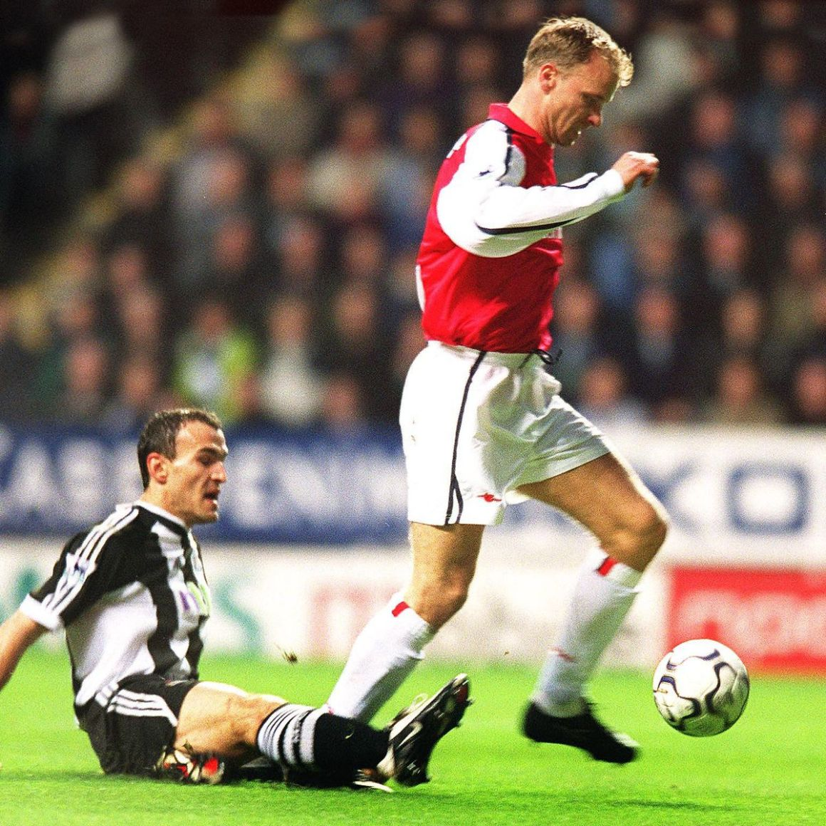 Arsenal legend Dennis Bergkamp opens up on his iconic goal against Newcastle United - football.london