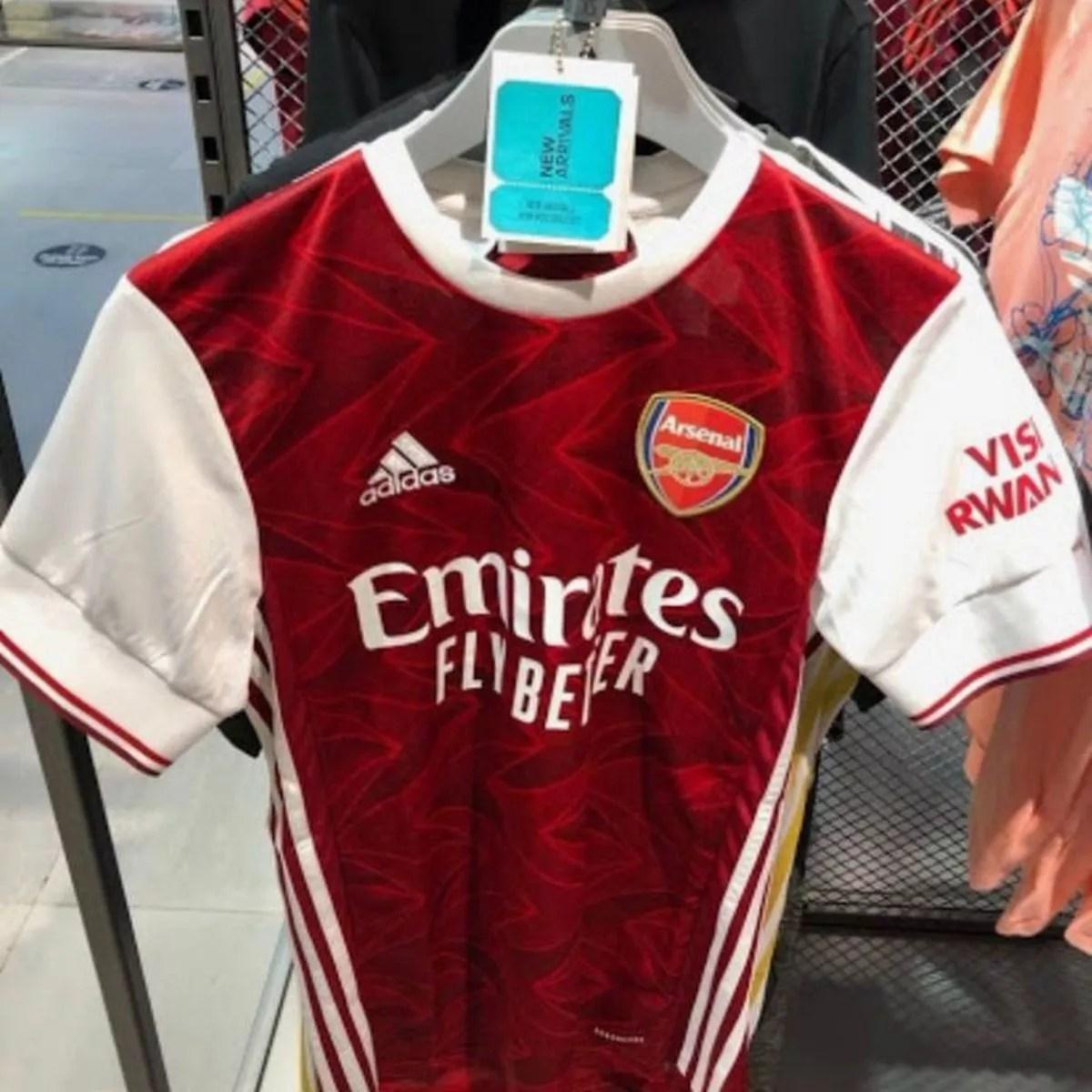 new arsenal 2020 21 adidas kits