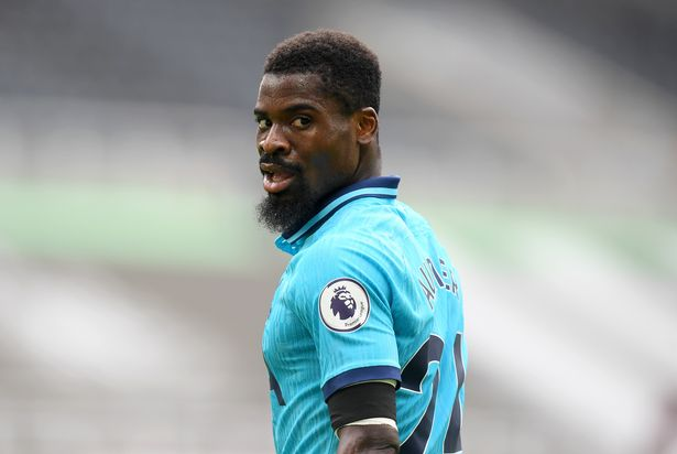 Serge Aurier looks to be on the move. (Photo by Michael Regan/Getty Images)