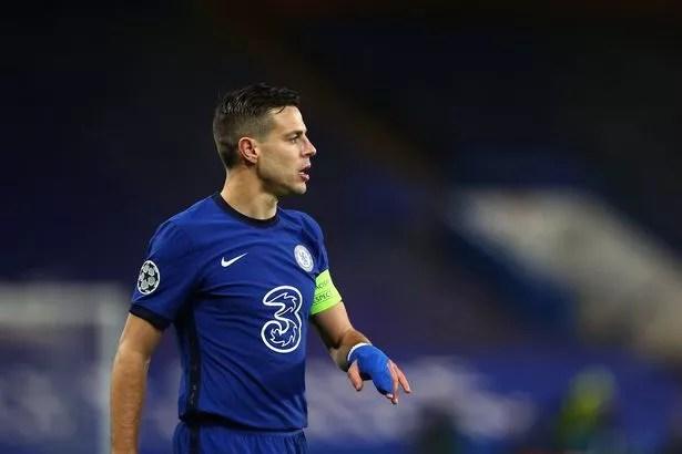 Chelsea captain Cesar Azpilicueta