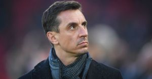 """Gary Neville specifies that he thinks he is """"wrong"""" regarding Jose Mourinho and Spurs against Man United"""