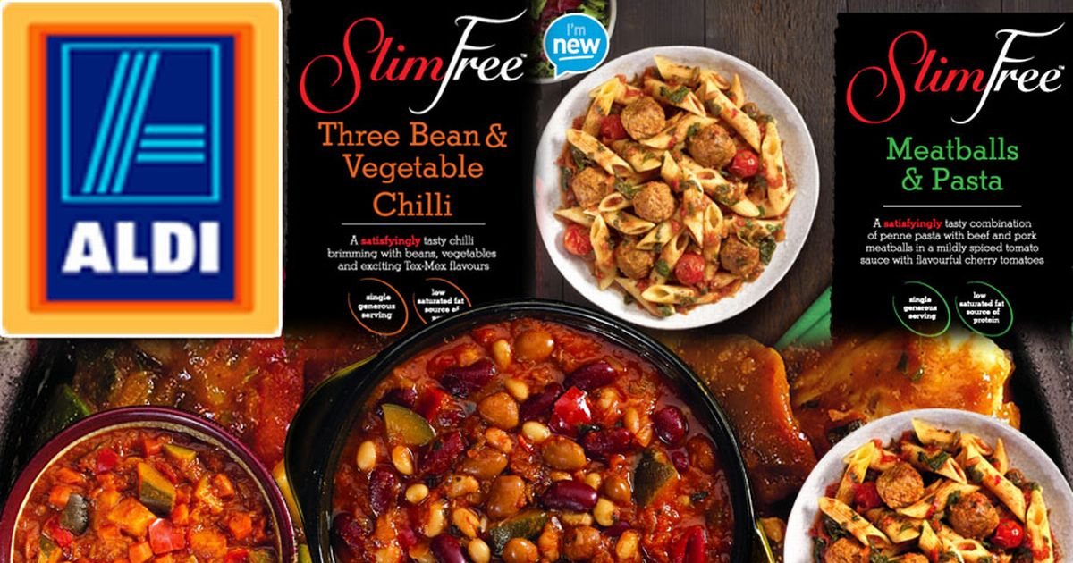 aldi launches slimming ready meals