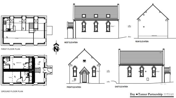 Plans submitted for redevelopment of a church site in