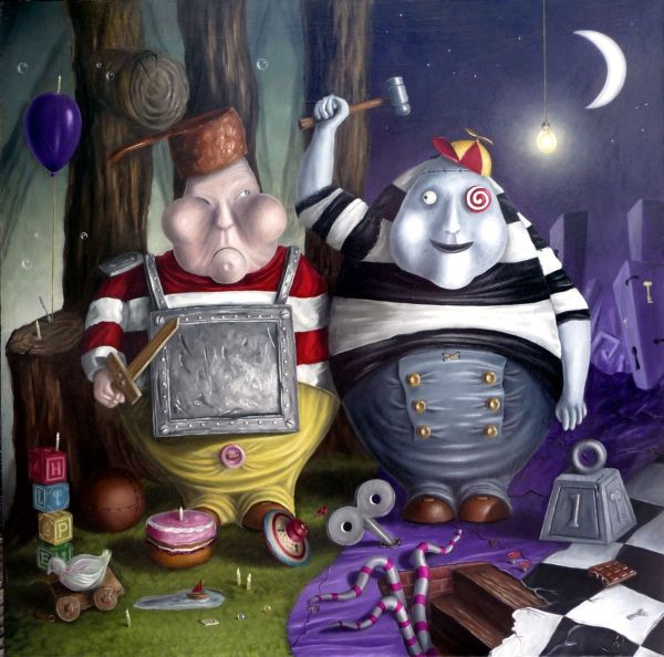 Alice in Wonderland Surreal Art