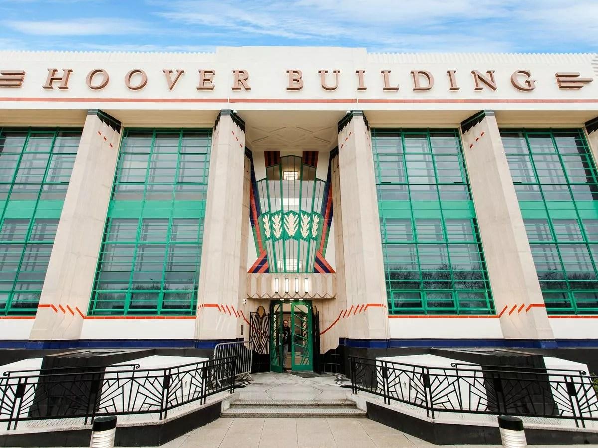 art deco buildings in london