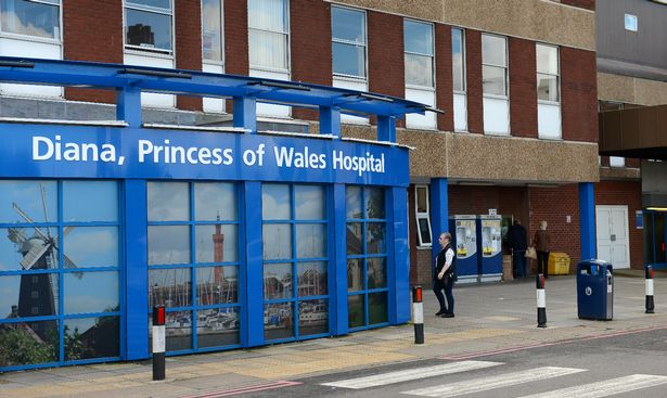 Diana Princess of Wales Hospital, Grimsby where Mr. Syed works