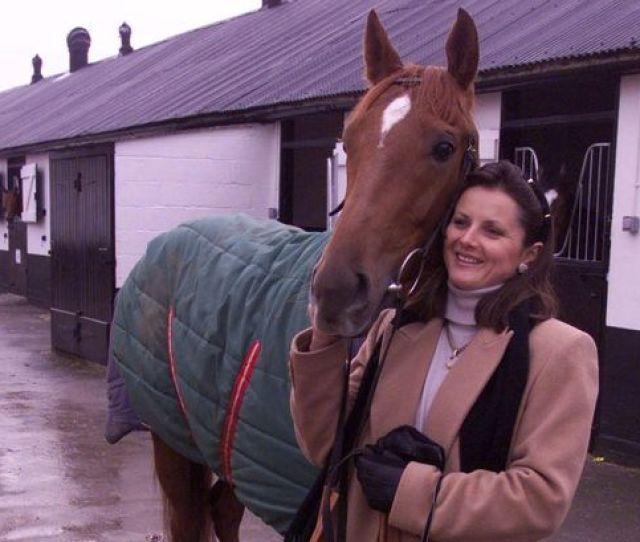 Gay Kelleway Pictured At Her Stables In 1998 Says A Well Known Male Jockey Pushed Himself On Her In A Changing Room Image Daily Mirror