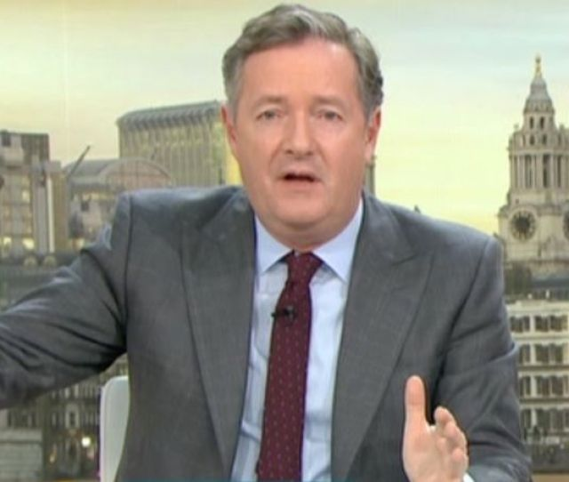 Piers Morgan Hit Out At The Hollywood Actor This Morning Image Itv Liam Neesons