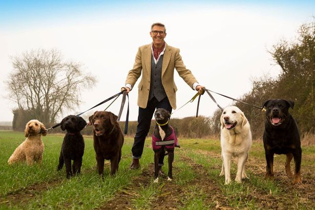 Graeme Hall has made his name as 'The Dogfather'