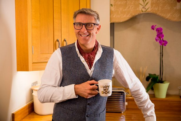 The Dogfather, Graeme Hall, has become a hit with Dogs Behaving (Very) Badly on Channel 5