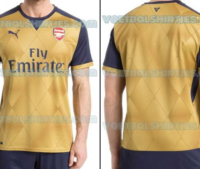 Leak Is This Arsenals New Away Kit